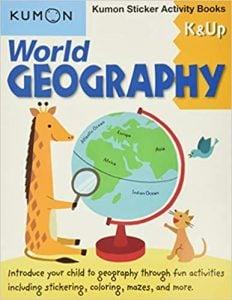 World Geography: Sticker Activity Book