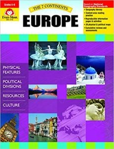 7 Continents, Grades 4-6, Europe