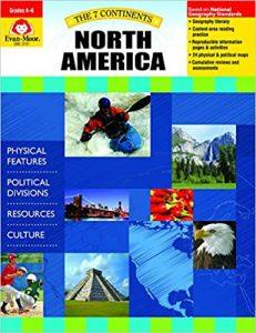 7 Continents, Grades 4-6, North America