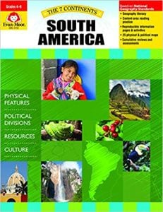 7 Continents, Grades 4-6, South America