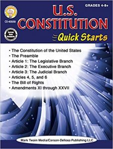 Constitution Quick Starts Workbook Grade 4-12