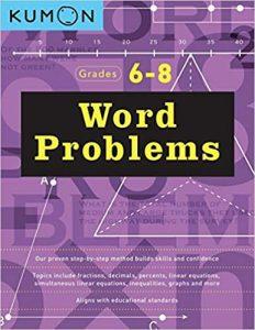 Kumon Word Problems