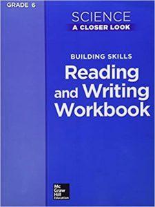 Science A Closer Look Grade 6 workbook
