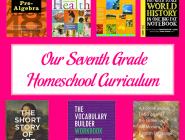 Seventh Grade Homeschool Curriculum