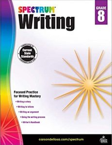 Spectrum Writing Grade 8