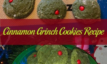 Cinnamon Grinch Cookies Recipe