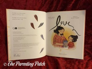 Inside Pages of 'Love'