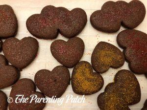 Baked Chocolate Cutout Sugar Cookies 2