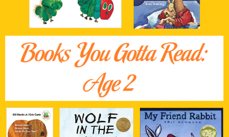 Books You Gotta Read: Age 2