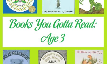 Books You Gotta Read Age 3